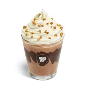 "With chocolate sauce and hazelnut syrup, the ""frostino"" has 33.2g of sugar (Costa Coffee)"