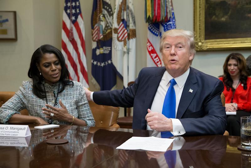 Omarosa Manigault: Trump adviser who resigned says she saw things in White House that made her 'very uncomfortable'