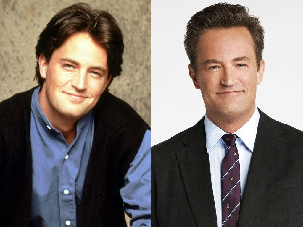 """(5) Matthew Perry (Chandler Bing) He may have been pegged as the """"Friends"""" breakout star early on, but Perry has struggled to leave the ever-sarcastic Chandler Bing in the rearview mirror. His big-screen career peaked with the """"Whole Nine Yards"""" films, and his attempts at a TV comeback have fizzled. Hooking up with Aaron Sorkin to play a pill-popping sketch-comedy writer on NBC's """"Studio 60 on the Sunset Strip"""" sounded like a solid career move, but the highly-touted show collapsed after just one season. And ABC's """"Mr. Sunshine"""" didn't even last that long. Now he's back on NBC with """"Go On,"""" as a mouthy sports-talk radio host who's forced into group therapy after his wife dies. Sounds like a barrel of laughs, huh? We just wish he could've stuck around for more than two episodes of """"The Good Wife""""; his shockingly nefarious guest role there proved that Chandler can break bad, too."""