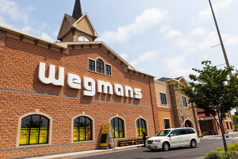 A recent Market Force study named Wegmans as shoppers' favorite grocery store chain. (andipantz)