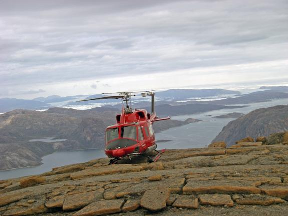 """Highlands near Upernavik, Greenland, are surfaces up to 800,000 years old that are protected by """"ghost glaciers."""""""