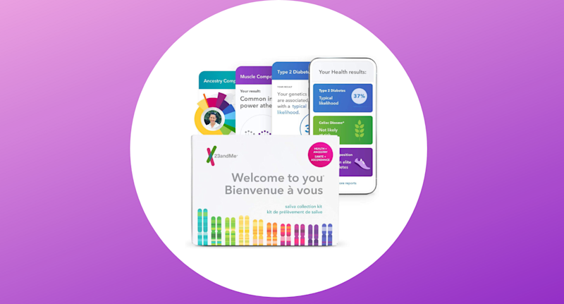 23andMe kits are on sale right now for 50% off