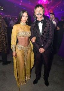 Kim Kardashian West and Jonathan Cheban