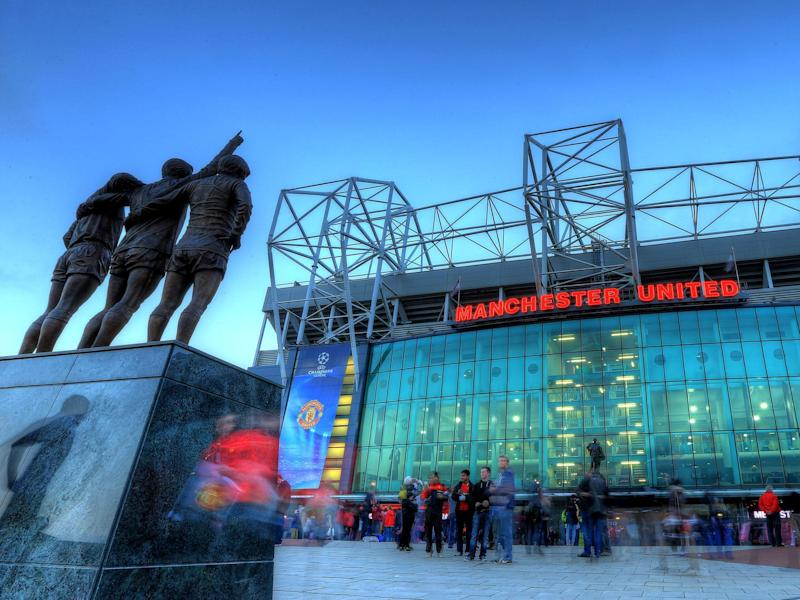 Old Trafford, the home ground of Manchester United: Getty