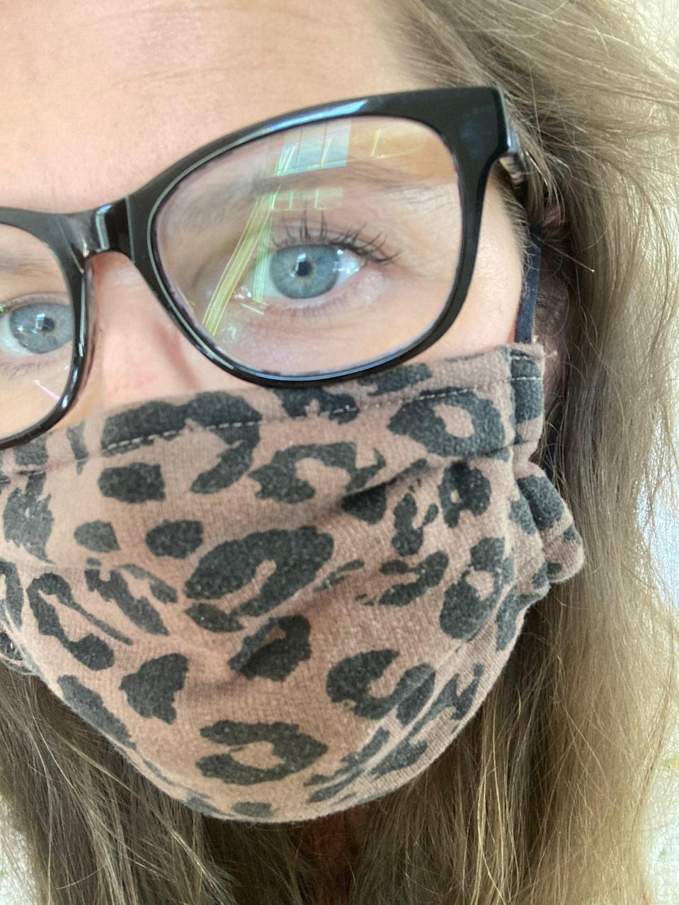 "These are made of thick cotton but are super breathable and comfortable. My husband loves them too because they have a very generous amount of face covering and he has a much larger face than me! They have a ton of patterns, and I got some for my toddler daughter too! —<em>Morgan Wrapp, design director</em> $12, Z Supply. <a href=""https://zsupplyclothing.com/collections/resuable-face-masks/products/grey-leopard-mask-pack"" rel=""nofollow noopener"" target=""_blank"" data-ylk=""slk:Get it now!"" class=""link rapid-noclick-resp"">Get it now!</a>"