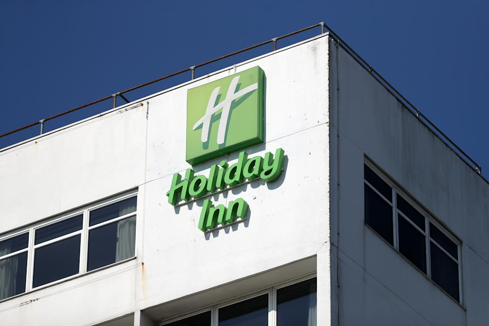 Holiday Inn hotel in Southampton, England. Photo: Naomi Baker/Getty Images