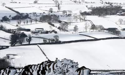 White Easter Looms As Cold Snap Continues