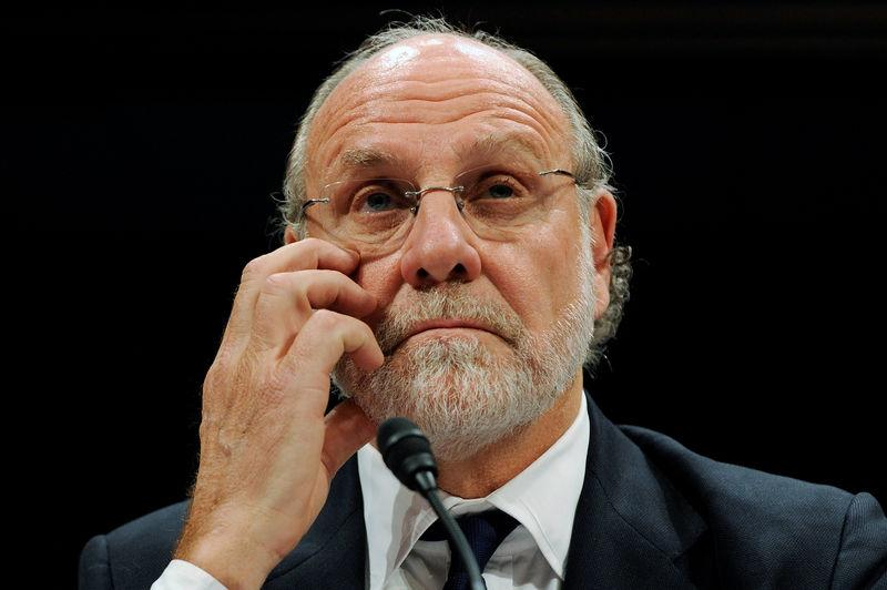 FILE PHOTO - Former MF Global Chief Jon Corzine testifies before a House Financial Services Committee Oversight and Investigations Subcommittee hearing in Washington