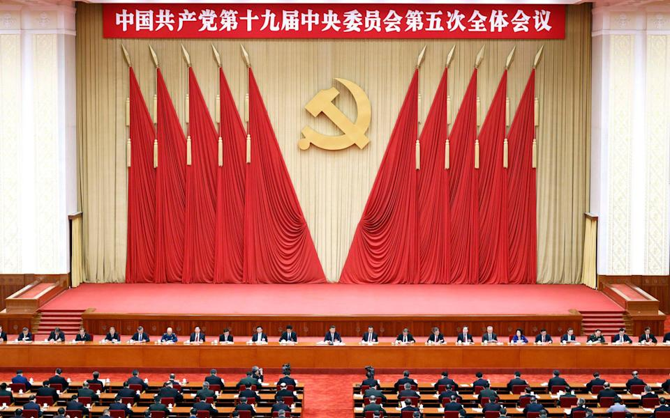 Chinese president Xi Jinping oversaw the meeting - Liu Bin/Xinhua via AP
