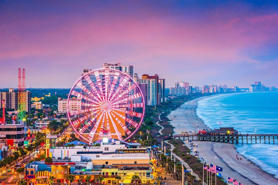 Vacationer mecca Myrtle Beach may see its biggest summer yet, local tourism officials say.