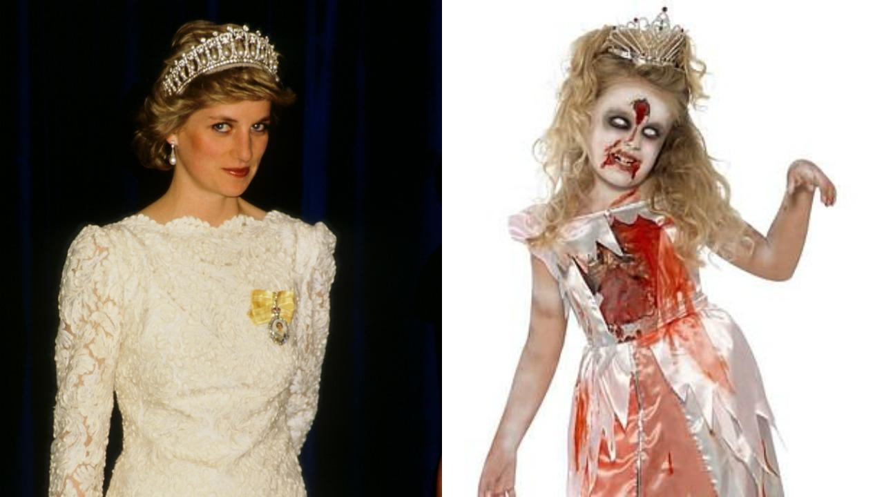 93adf0f1 Bloody zombie princess costume sold by Kate Middleton's family sparks  outrage
