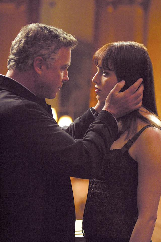 """Grissom's case reunites him with his favorite dominatrix Lady Heather (guest star Melinda Clarke) when the CSI team connects the murder of two male escorts to her. (""""Lady Heather's Box"""" 2/13/2003, Season 3)"""