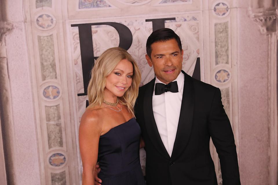 Kelly Ripa clapped back at one of husband Mark Consuelos's followers. (Photo: Rob Kim/Getty Images)