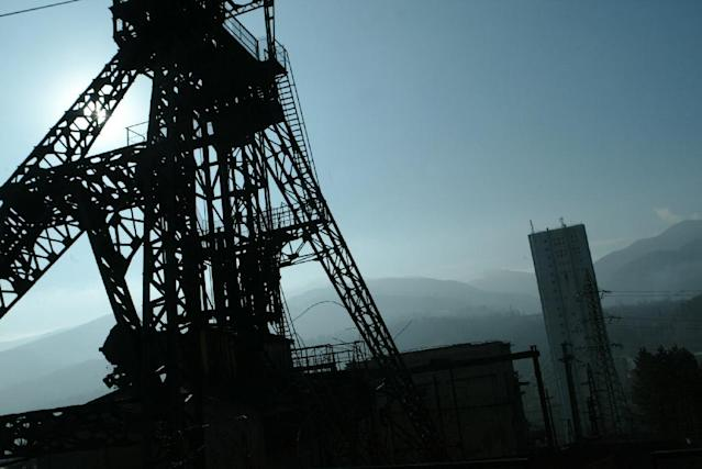 The Lupeni mine, which is located in Jiu Valley, Romania's main mining region, is due to close by the end of 2018 General view of Lupeni coal mine at an entrance pit in Lupeni city (350km west from Bucharest), 20 February 2007. The Valea Jiului region was touched by a programme of World Bank launched in 1997 heading the closing of unprofitable mines and counts today just 150,000 inhabitants compared with 300,000 in 1990. The number of workers in coal mining dropped in the past 17 years from 46,000 to 11,800. According to Romanian authorities the coal extraction must continues as coal based power plants deliver one-third of the energy needed by Romania, if not, the country will import the coal and the price of energy will rise. A decision regarding the closing or not of coal mining will be taken until May 2007 as Romania should cease the state support for this sector until 2011 according to engagements taken before the EU accesion of the country. AFP PHOTO DANIEL MIHAILESCUGeneral view of Lupeni coal mine at an entrance pit in Lupeni city (350km west from Bucharest), 20 February 2007. The Valea Jiului region was touched by a programme of World Bank launched in 1997 heading the closing of unprofitable mines and counts today just 150,000 inhabitants compared with 300,000 in 1990. The number of workers in coal mining dropped in the past 17 years from 46,000 to 11,800. According to Romanian authorities the coal extraction must continues as coal based power plants deliver one-third of the energy needed by Romania, if not, the country will import the coal and the price of energy will rise. A decision regarding the closing or not of coal mining will be taken until May 2007 as Romania should cease the state support for this sector until 2011 according to engagements taken before the EU accesion of the country. AFP PHOTO DANIEL MIHAILESCU (AFP Photo/DANIEL MIHAILESCU)