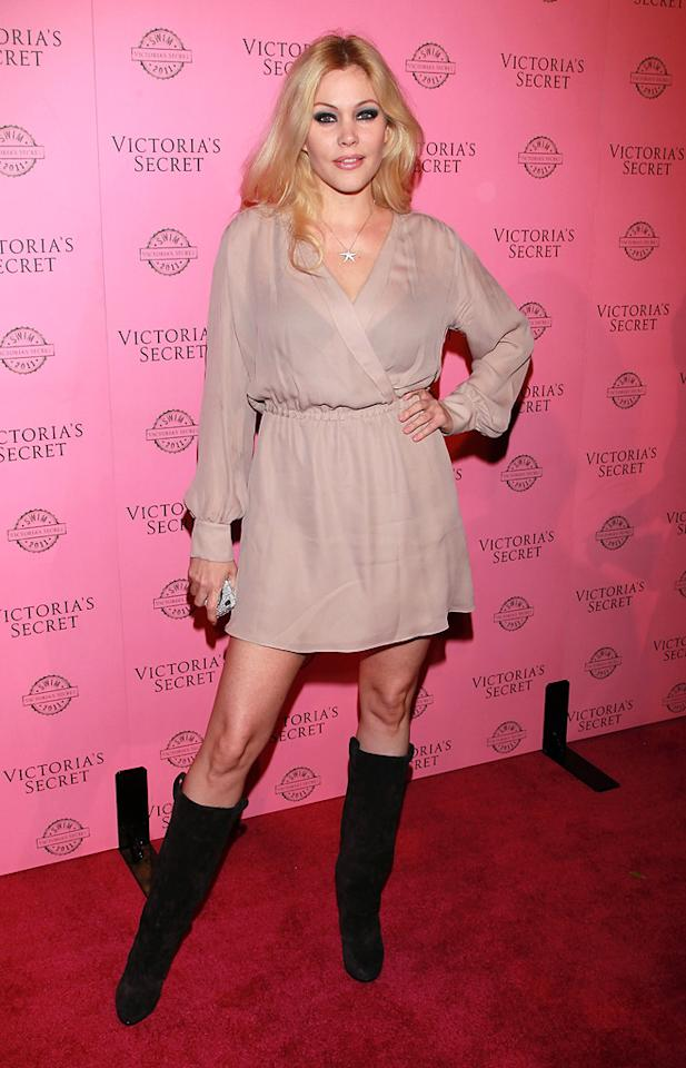 """Bridalplasty"" host Shanna Moakler opted for a blush frock and black suede boots. David Livingston/<a href=""http://www.gettyimages.com/"" target=""new"">GettyImages.com</a> - March 30, 2011"