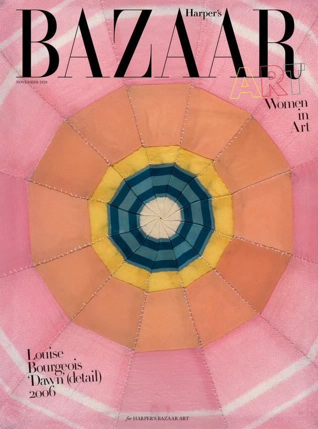 Photo credit: Louise Bourgeois for Bazaar Art