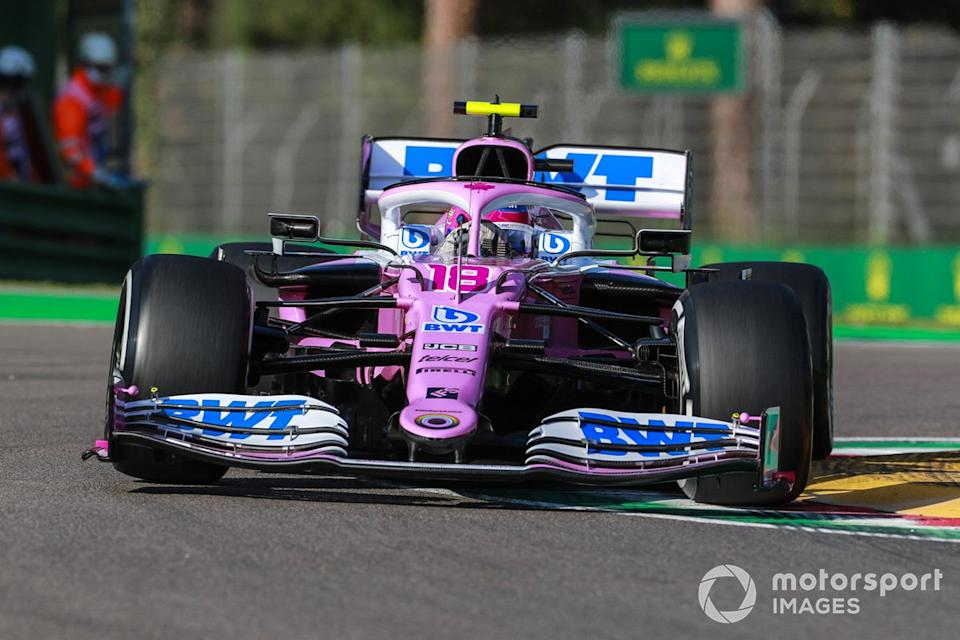 "Lance Stroll, Racing Point RP20 <span class=""copyright"">Steven Tee / Motorsport Images</span>"