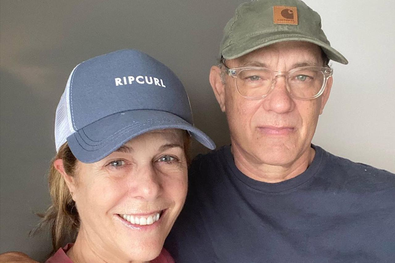 """<p>Five days after revealing he and his wife <a href=""""https://people.com/health/celebrities-who-have-coronavirus/"""">Rita Wilson tested positive</a> in Australia, Hanks and Wilson left the hospital to quarantine in a rented home. The actor gave an update on his symptoms on <a href=""""https://www.instagram.com/p/B92X8mjh159/"""">Instagram</a>, explaining that his status had not changed much.</p> <p>""""No fever but the blahs,"""" he said. """"Folding the laundry and doing the dishes leads to a nap on the couch.""""</p>"""