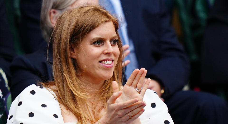 Princess Beatrice this week revealed she had called her daughter Sienna Elizabeth. (Getty Images)