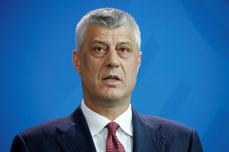 Kosovan President Hashim Thaci must contend with criticism from the opposition at home as he mulls a potential land swap