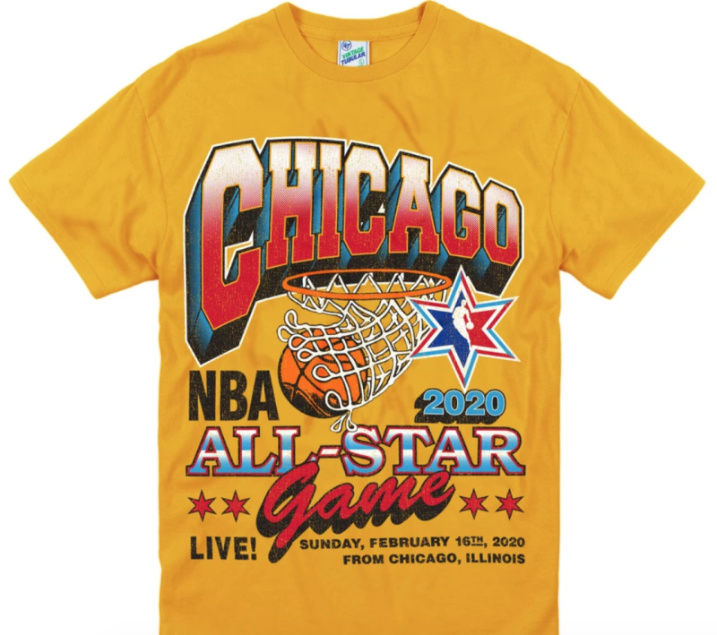 NBA All-Star Game '47 Vintage Tubular Tee