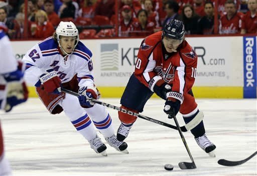 Ovechkin, Holtby lead Capitals past Rangers 3-1