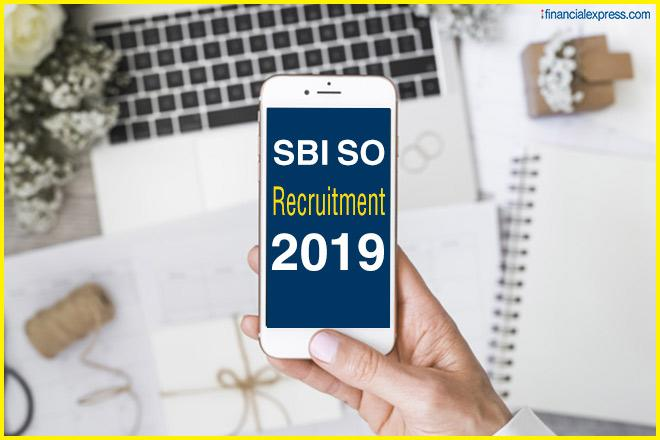 Sbi, sBI recruitment 2019, SBI jobs, sbi.co.in, SBI SO recruitment 2019, SBI salary package, Specialist Cadre Officer, Specialist Cadre Officer jobs, sbi.co.in/careers, SBI SO registration process, Jobs news