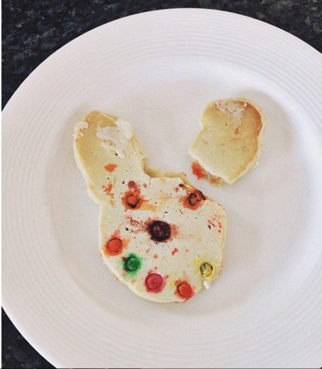 Any kid (or adult) would be creeped out by this disturbed-looking bunny cookie.
