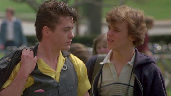 <p>Almost three decades before Robert Downey Jr. donned the Iron Man suit, he was just another '80s teen heartthrob, getting his first onscreen credit in the 1983 comedy <em>Baby It's You</em>.</p>