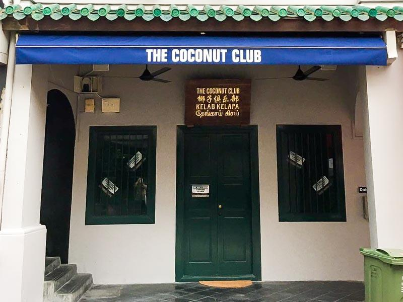 the coconut club exterior
