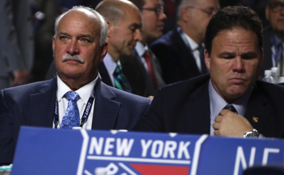 Jeff Gorton and John Davidson have been stunningly relieved of their duties by Rangers CEO James Dolan.