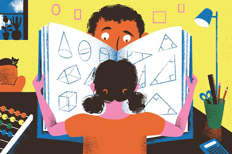 Despite the best efforts of compassionate teachers who are attempting to form connections with their students over Zoom, parents are still playing a big role in online education this fall. (Golden Cosmos/The New York Times)