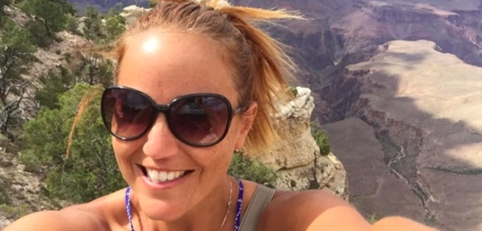 <p>Sandy Casey, a middle school special education teacher living in Redondo Beach, California. Casey was at the Las Vegas concert with her fiance and a friend, who were not injured. (Sandy Casey) </p>