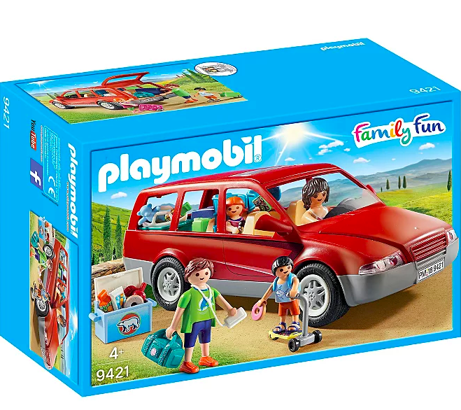"""<p>Fun for all road trip fans, the Playmobil 9421 Family Fun Family Car is fully equipped with food, luggage and entertainment to make sure everyone has everything they need while away on holiday. </p><a class=""""link rapid-noclick-resp"""" href=""""https://direct.asda.com/george/toys-character/kids-toys/action-figures-playsets/playmobil-9421-family-fun-family-car/050609769,default,pd.html?cgid=D30M1G1C1"""" rel=""""nofollow noopener"""" target=""""_blank"""" data-ylk=""""slk:Shop now"""">Shop now</a>"""