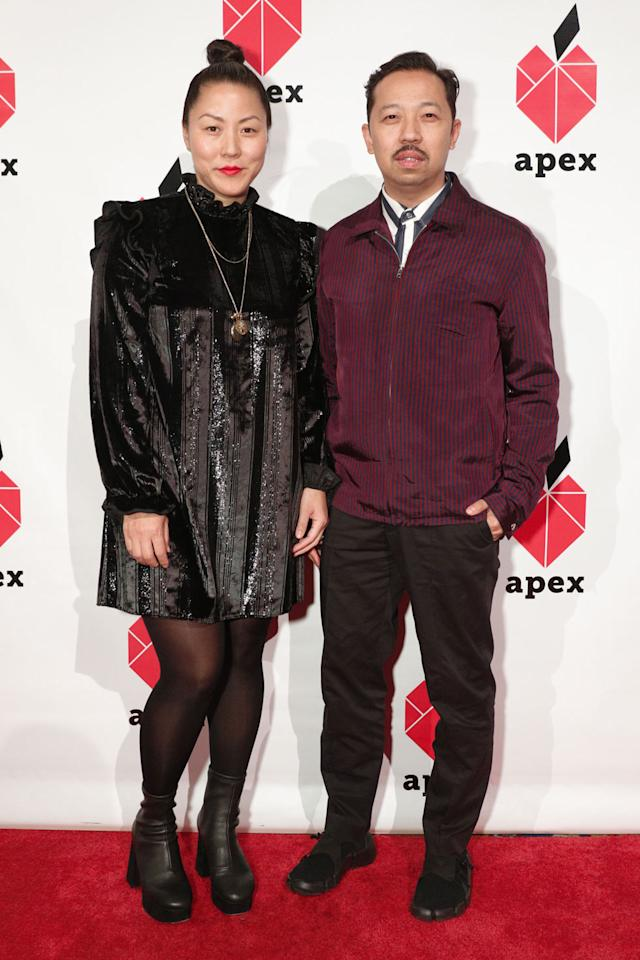 "<p>Carol Lim and Humberto Leon are the co-creative directors at Kenzo and founders of Opening Ceremony. ""Be curious … with everything that you have at your access, such as organizations like Apex; look beyond what you know,"" Leon tells Yahoo Lifestyle. Lim adds, ""Be persistent. Don't give up.""<br /> (Photo: BFA/Courtesy of Apex for Youth) </p>"