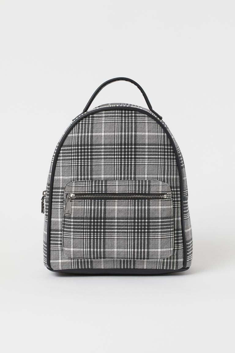 <p>If you want something different from basic black, we've got you covered. This <span>H&amp;M Small Backpack</span> ($25) is a fun choice that will still easily go with lots of different outfits.</p>