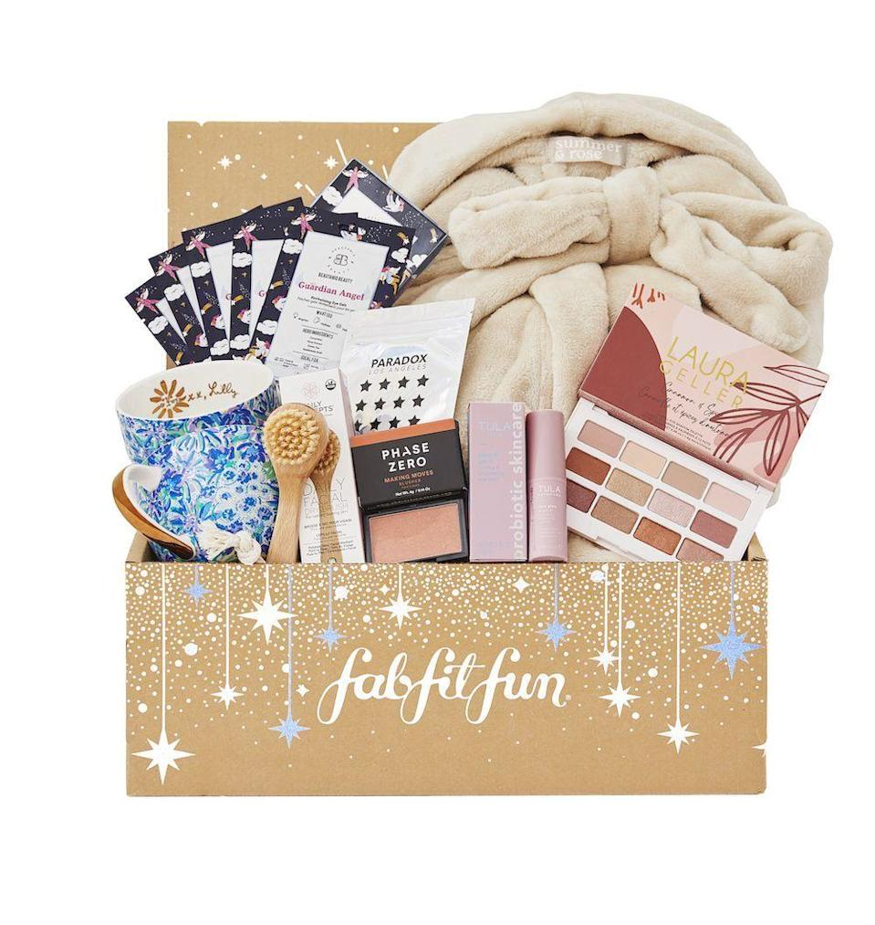 "<p><strong>FabFitFun</strong></p><p>fabfitfun.com</p><p><strong>$49.99</strong></p><p><a href=""https://go.redirectingat.com?id=74968X1596630&url=https%3A%2F%2Fwww.fabfitfun.com%2Fget-the-box%2F%23plan%3Dfffvip&sref=https%3A%2F%2Fwww.seventeen.com%2Ffashion%2Fg788%2Fgifts-for-you%2F"" rel=""nofollow noopener"" target=""_blank"" data-ylk=""slk:Shop Now"" class=""link rapid-noclick-resp"">Shop Now</a></p><p>Subscribe to this product-packed box for a new surprise every month. Get full-sized beauty products, trendy clothes, and the cutest dorm decor all customized based on your taste. </p>"
