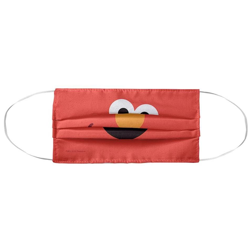 """<p><strong>MaskClub</strong></p><p>maskclub.com</p><p><strong>$13.99</strong></p><p><a href=""""https://maskclub.com/collections/kids/products/sesame-street-elmo-face-face-mask"""" rel=""""nofollow noopener"""" target=""""_blank"""" data-ylk=""""slk:Shop Now"""" class=""""link rapid-noclick-resp"""">Shop Now</a></p><p>From <a href=""""https://maskclub.com/collections/kids/Batman"""" rel=""""nofollow noopener"""" target=""""_blank"""" data-ylk=""""slk:Batman"""" class=""""link rapid-noclick-resp"""">Batman</a> to <a href=""""https://maskclub.com/collections/kids/Harry-Potter"""" rel=""""nofollow noopener"""" target=""""_blank"""" data-ylk=""""slk:Harry Potter"""" class=""""link rapid-noclick-resp"""">Harry Potter</a> to <a href=""""https://maskclub.com/collections/kids/Sesame-Street"""" rel=""""nofollow noopener"""" target=""""_blank"""" data-ylk=""""slk:Sesame Street"""" class=""""link rapid-noclick-resp"""">Sesame Street</a> and more, this face mask website recently launched seemingly endless character options for kids. There are also trendy designs like <a href=""""https://maskclub.com/collections/kids/Tie-Dye"""" rel=""""nofollow noopener"""" target=""""_blank"""" data-ylk=""""slk:tie-dye"""" class=""""link rapid-noclick-resp"""">tie-dye</a> and <a href=""""https://maskclub.com/collections/kids/Food-&-Snacks"""" rel=""""nofollow noopener"""" target=""""_blank"""" data-ylk=""""slk:food prints"""" class=""""link rapid-noclick-resp"""">food prints</a>. You can also subscribe to get a new face mask each month at a discounted cost. The mask has two layers of polyester fabric; just note that there aren't adjustable-fit features and it's designed for kids ages 3-12.</p>"""
