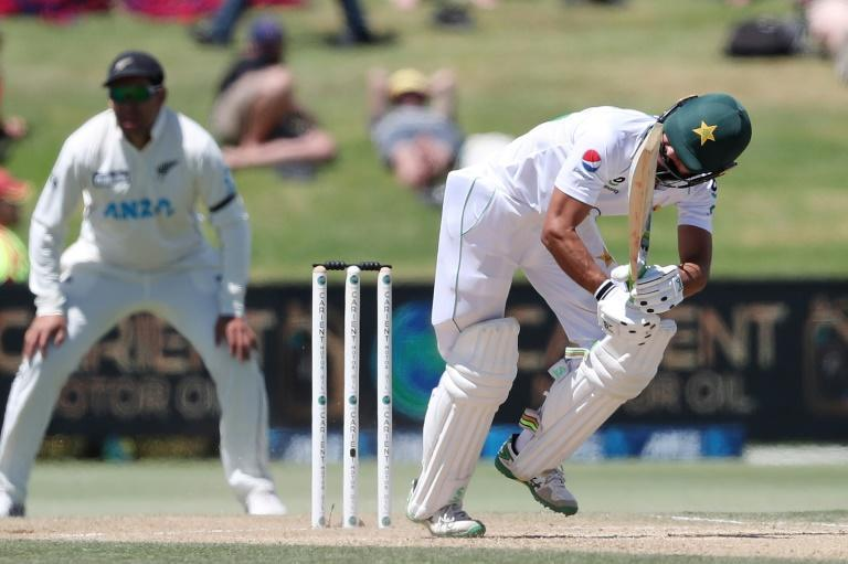 Fawad Alam was helping to keep Pakistan in the first Test against New Zealand
