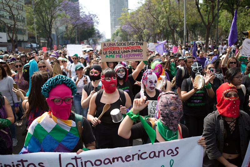 Mexico's 'Day Without Women' Empties Out Workplaces, Schools