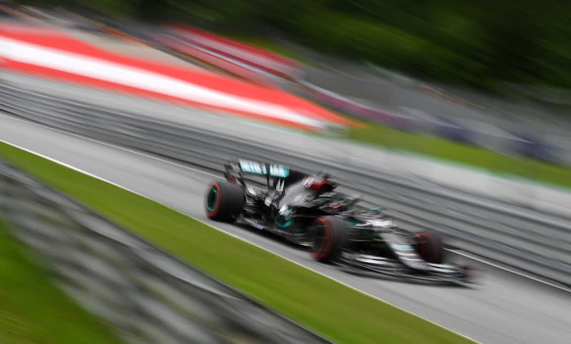 Hamilton makes a statement as F1 gets back on track