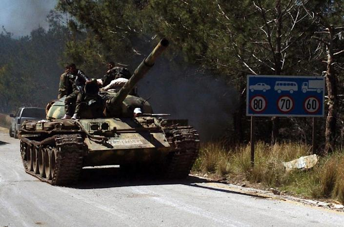 Latakia lies in the heartland of the minority Alawite sect to which Syria's ruling clan belongs and has been largely spared attacks during four and a half years of civil war (AFP Photo/-)