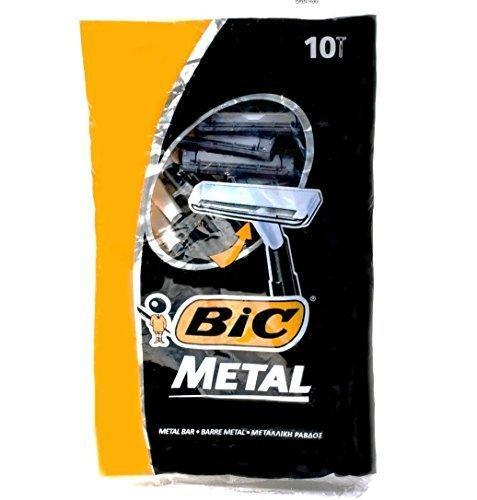"<p><strong>Bic Metal</strong></p><p>amazon.com</p><p><strong>$9.98</strong></p><p><a href=""http://www.amazon.com/dp/B013PZ9E2Q/"" rel=""nofollow noopener"" target=""_blank"" data-ylk=""slk:BUY IT HERE"" class=""link rapid-noclick-resp"">BUY IT HERE</a></p><p>These stainless steel single-blade disposable razors are as close to a safety razor shave as you'll get with a disposable. They're designed to be used only once but are cheap enough to make that totally doable.</p>"