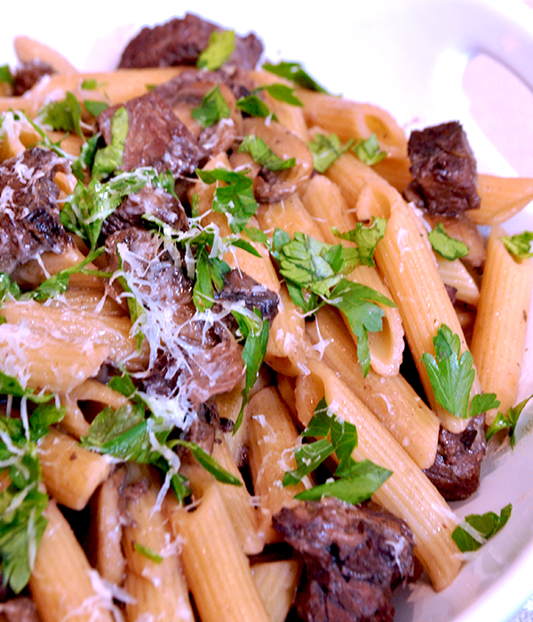 """<p>A one pot meal sounds pretty great after all that holiday cooking, especially one this decadent and delicious.</p><p>Get the recipe from <a href=""""http://www.macandmolly.com/leftover-prime-rib-pasta/"""" rel=""""nofollow noopener"""" target=""""_blank"""" data-ylk=""""slk:Mac + Molly"""" class=""""link rapid-noclick-resp"""">Mac + Molly</a>. </p>"""