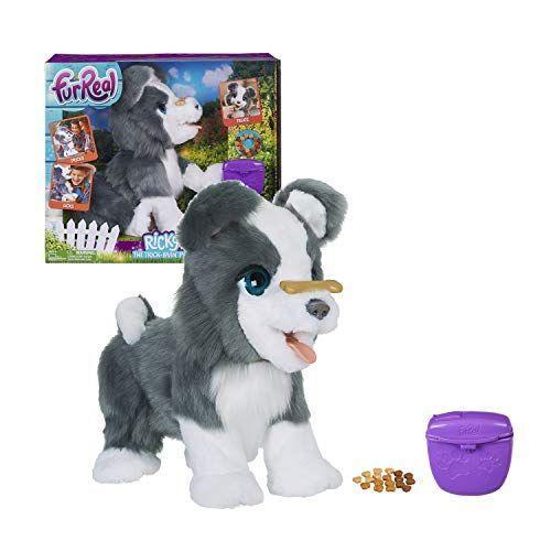 """<p><strong>Hasbro</strong></p><p>amazon.com</p><p><strong>$209.00</strong></p><p><a href=""""http://www.amazon.com/dp/B076QJHFF9/?tag=syn-yahoo-20&ascsubtag=%5Bartid%7C10055.g.28133058%5Bsrc%7Cyahoo-us"""" rel=""""nofollow noopener"""" target=""""_blank"""" data-ylk=""""slk:Shop Now"""" class=""""link rapid-noclick-resp"""">Shop Now</a></p><p>If the name alone wasn't enough to get you interested in this cute pup, the interactive toy will! Kid testers and Good Housekeeping Institute engineers always love Hasbro's FurReal line (including Ricky's pal <a href=""""https://go.redirectingat.com?id=74968X1596630&url=https%3A%2F%2Fwww.walmart.com%2Fip%2FFurreal-Munchin-Rex-Baby-Dino-Pet-35-Sound-and-Motion-Combinations%2F987198284&sref=https%3A%2F%2Fwww.goodhousekeeping.com%2Fchildrens-products%2Ftoy-reviews%2Fg28133058%2Fbest-gifts-for-5-year-old-girls%2F"""" rel=""""nofollow noopener"""" target=""""_blank"""" data-ylk=""""slk:Munchin' Rex"""" class=""""link rapid-noclick-resp"""">Munchin' Rex</a> the dinosaur). If you rub Ricky's sensors or speak to him, <strong>he will perform different moves and make sounds</strong>. Plus kids loved when his food comes out """"the other end."""" <em>Ages 4+</em></p>"""