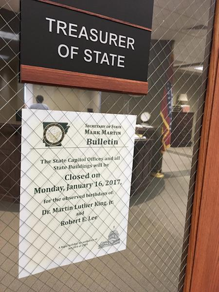 closed for martin luther king day signs