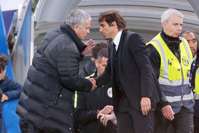 Such has been the war of words between Jose Mourinho and Antonio Conte it is easy to forget that a vitally important top-four battle will break out on the Old Trafford pitch on Sunday.