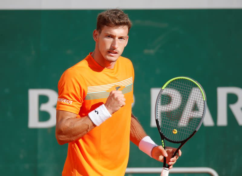 Carreno Busta beats Davis Cup team mate Bautista Agut to advance