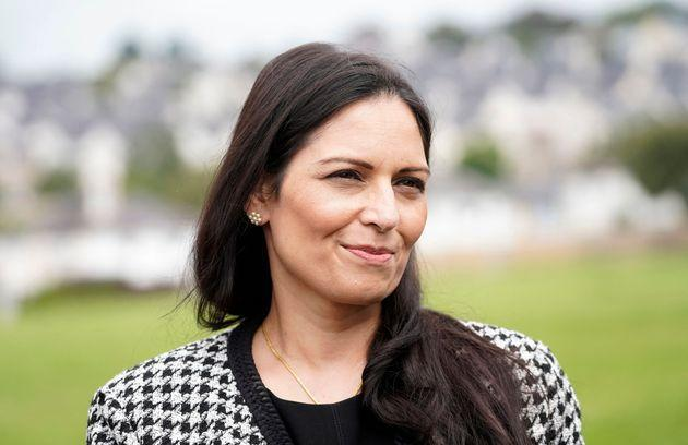Home secretary Priti Patel is yet to reply to industry heads about the chicken shortage (Photo: NIKLAS HALLE'N via Getty Images)