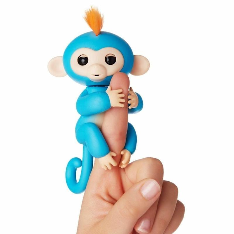 """These learning toyshave been selling out everywhere, but luckily eBay still has a bunch in stock. While this may just look like a lifeless toy, these <a href=""""https://www.ebay.com/rpp/toys-events/Fingerlings"""" target=""""_blank"""">interactive Fingerlings</a> respond tosound, touch, and movement."""